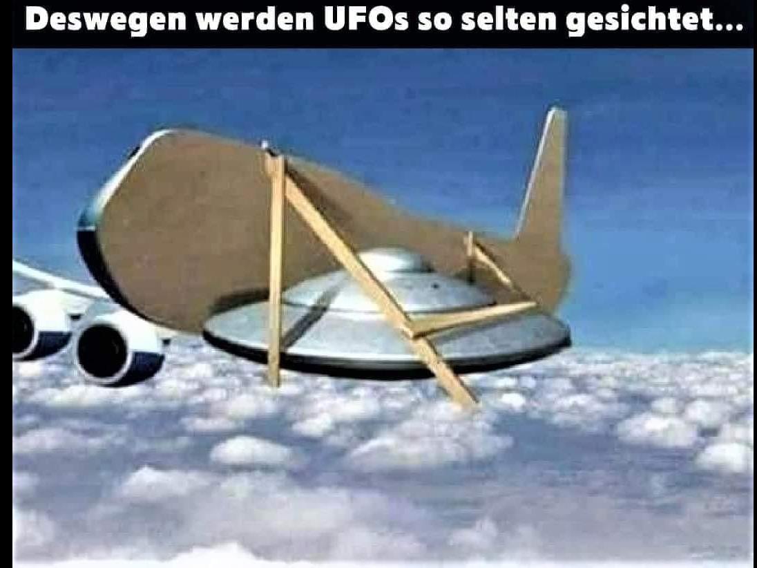 Ufos-versteckt